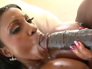 big tits, big cock, ebony, facial, straight,