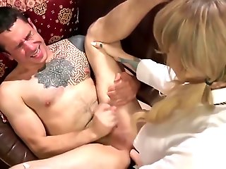blonde, bdsm, blowjob, domination, fetish, shemale