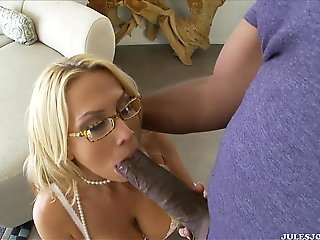interracial, blonde, big tits, big cock, bbc,