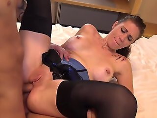 european, anal, threesome, french, piercing, straight